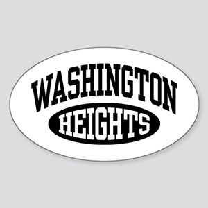 Washington Heights Sticker (Oval)