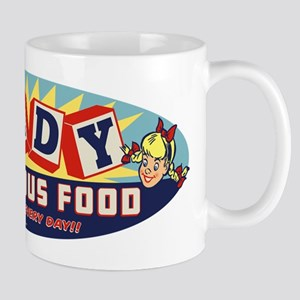Candy Is Delicious Food Mug