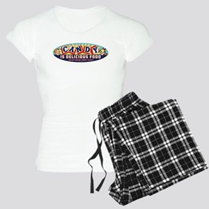 Candy Is Delicious Food Women's Light Pajamas