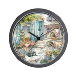 Kim Jacobs Woodfired Oven Breakfast Wall Clock