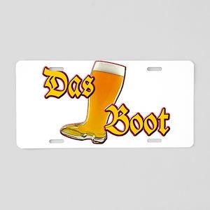 Das Boot Aluminum License Plate