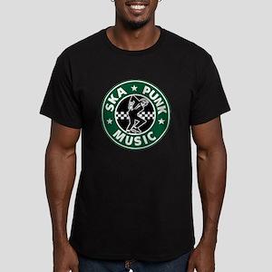 Ska Punk Men's Fitted T-Shirt (dark)
