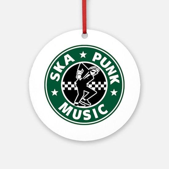 Ska Punk Ornament (Round)