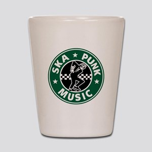Ska Punk Shot Glass