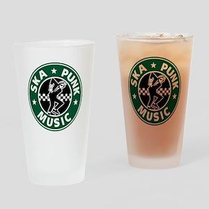 Ska Punk Drinking Glass