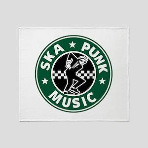 Ska Punk Throw Blanket