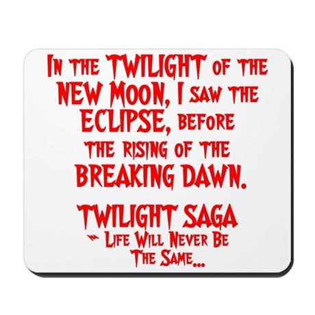 Twilight Saga Mousepad