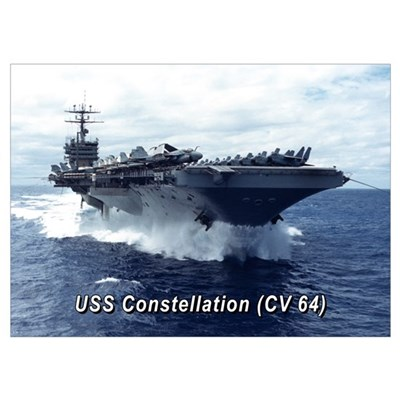 USS Constellation (CV 64) Poster