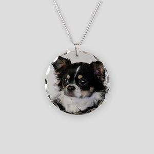 Tira - Head Shot Necklace Circle Charm
