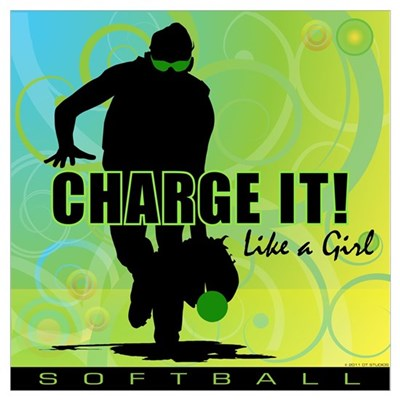 2011 Softball 42 Canvas Art