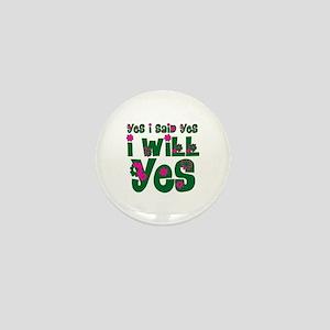 Joyce Mini Button