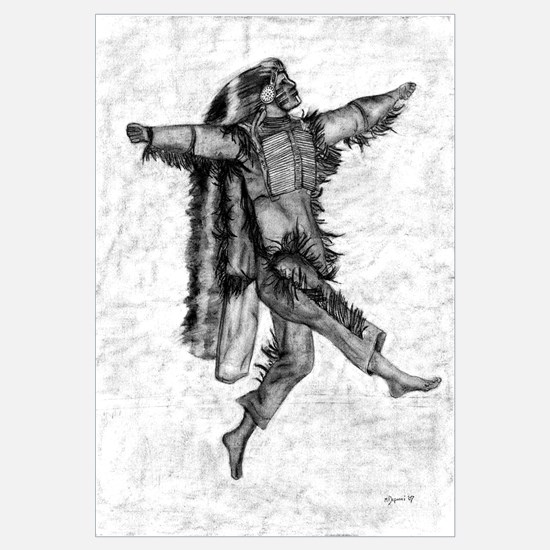 Unique Native american braves chiefs Wall Art