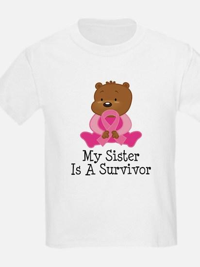 Breast Cancer Survivor Sister T-Shirt