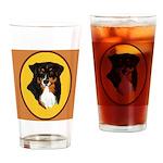 Australian Shepherd design Drinking Glass