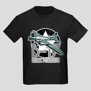 B-17 Flying Fortress Kids Dark T-Shirt