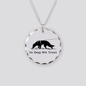 dogwetrust Necklace Circle Charm
