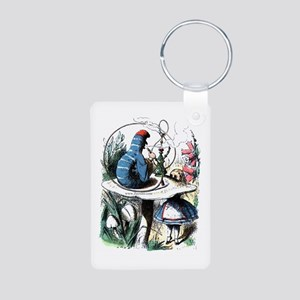Who R U Aluminum Photo Keychain