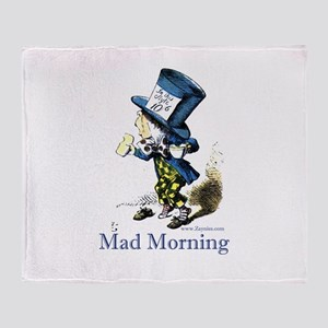 Mad Morning Throw Blanket