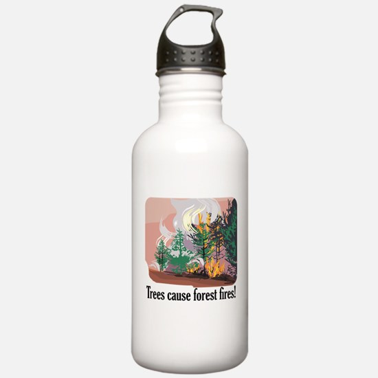 Cool Mom to be politics Water Bottle