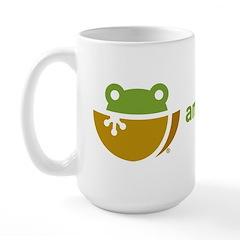 Amphibian Ark logo Mugs
