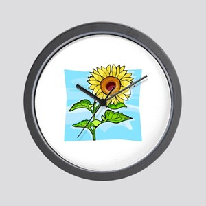 Sunflower902 Wall Clock
