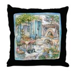 Kim Jacobs Woodfired Oven Breakfast Throw Pillow