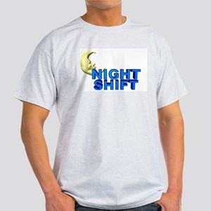 Night Shift Ash Grey T-Shirt