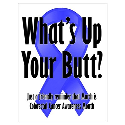 Colorectal Cancer Awareness Poster