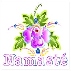 Namaste Bouquet Poster