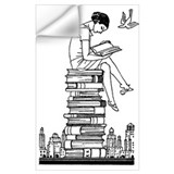 Books and reading Wall Decals