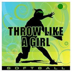 2011 Softball 21 Poster