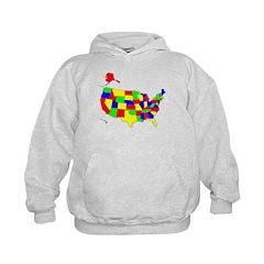 MAP OF AMERICA Hoodie