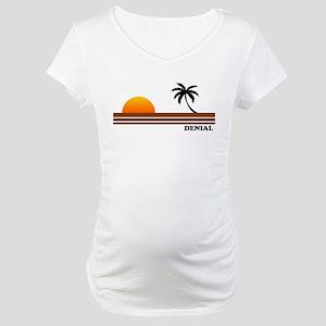 Denial Maternity T-Shirt
