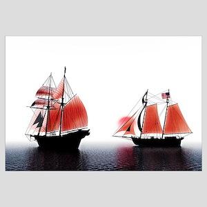 Tall Ships Red Dawn