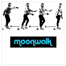 Moonwalk 02 Framed Print