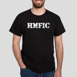 HMFIC white Dark T-Shirt