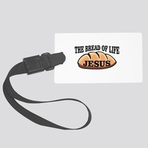 The bread of life Jesus Large Luggage Tag