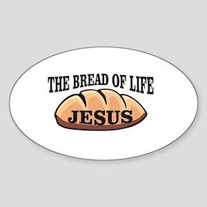 The bread of life Jesus Sticker