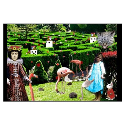 Croquet With The Queen Poster