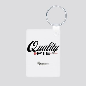 Quality Pie - In A Flash Phot Aluminum Photo Keych