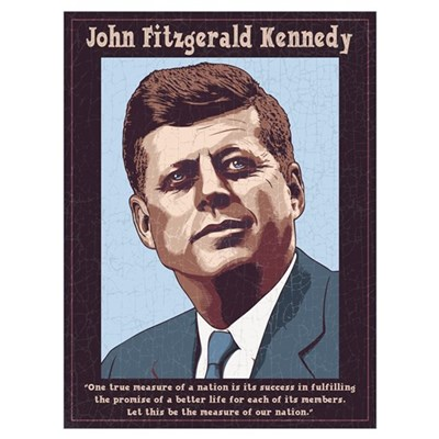 JFK - Measure Canvas Art