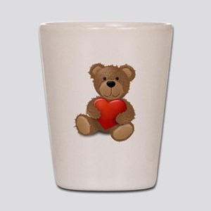 Cute teddybear Shot Glass