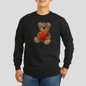 Cute teddybear Long Sleeve Dark T-Shirt