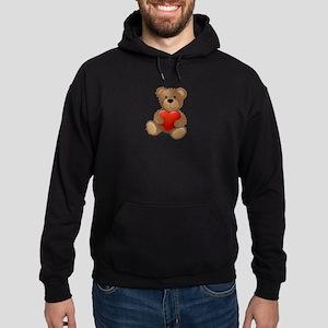 Cute teddybear Hoodie (dark)