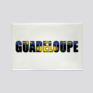 Guadeloupe Rectangle Magnet (10 pack)