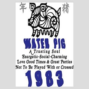 Water Pig 1983