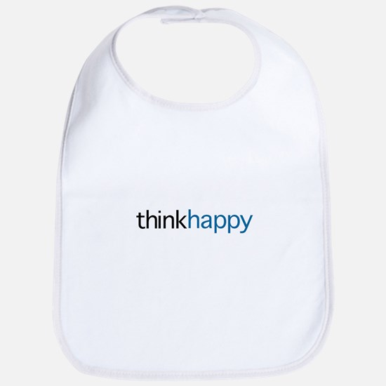 Think Happy Bib