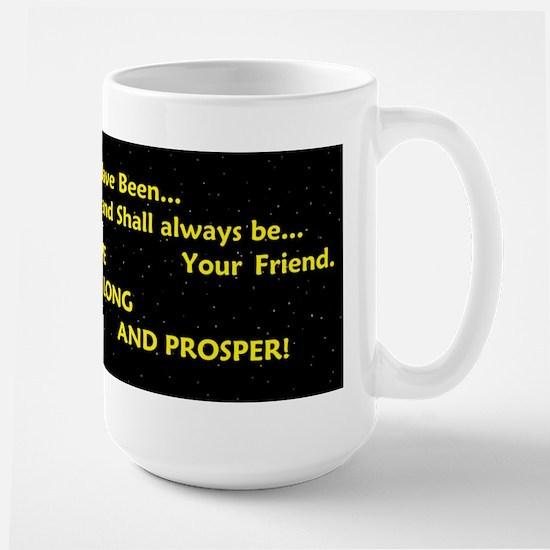Live long and prosper Large Mug