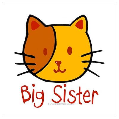 Cat Big Sister Poster