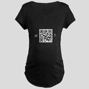Got (Curiosity)? Maternity Dark T-Shirt